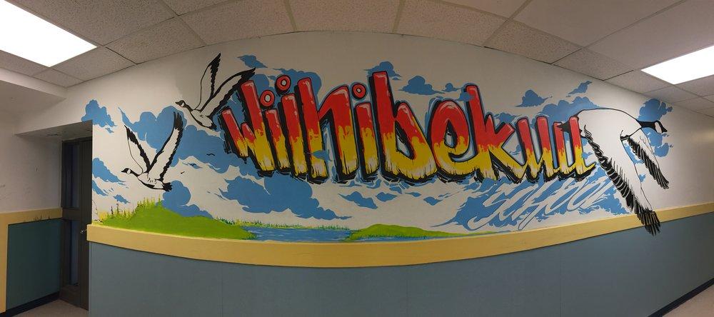 Cree Nation LandWaskaganish First Nation, Northen Quebec - Winnibekuu School