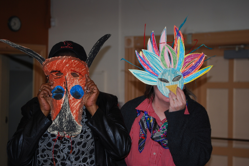 Animal Masks are always a huge hit with big kids and little kids.