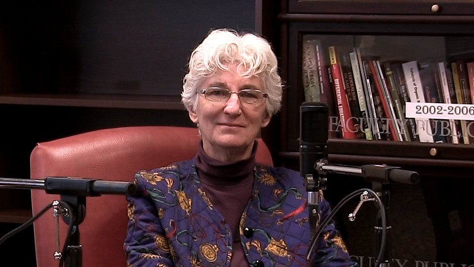 Dr. Judith Stark, Professor of Philosophy at Seton Hall University - South Orange