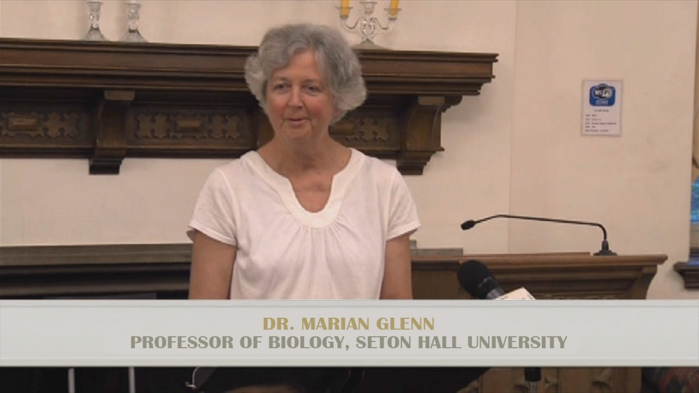 Dr. Marian Glenn, Professor of Biology, Seton Hall University