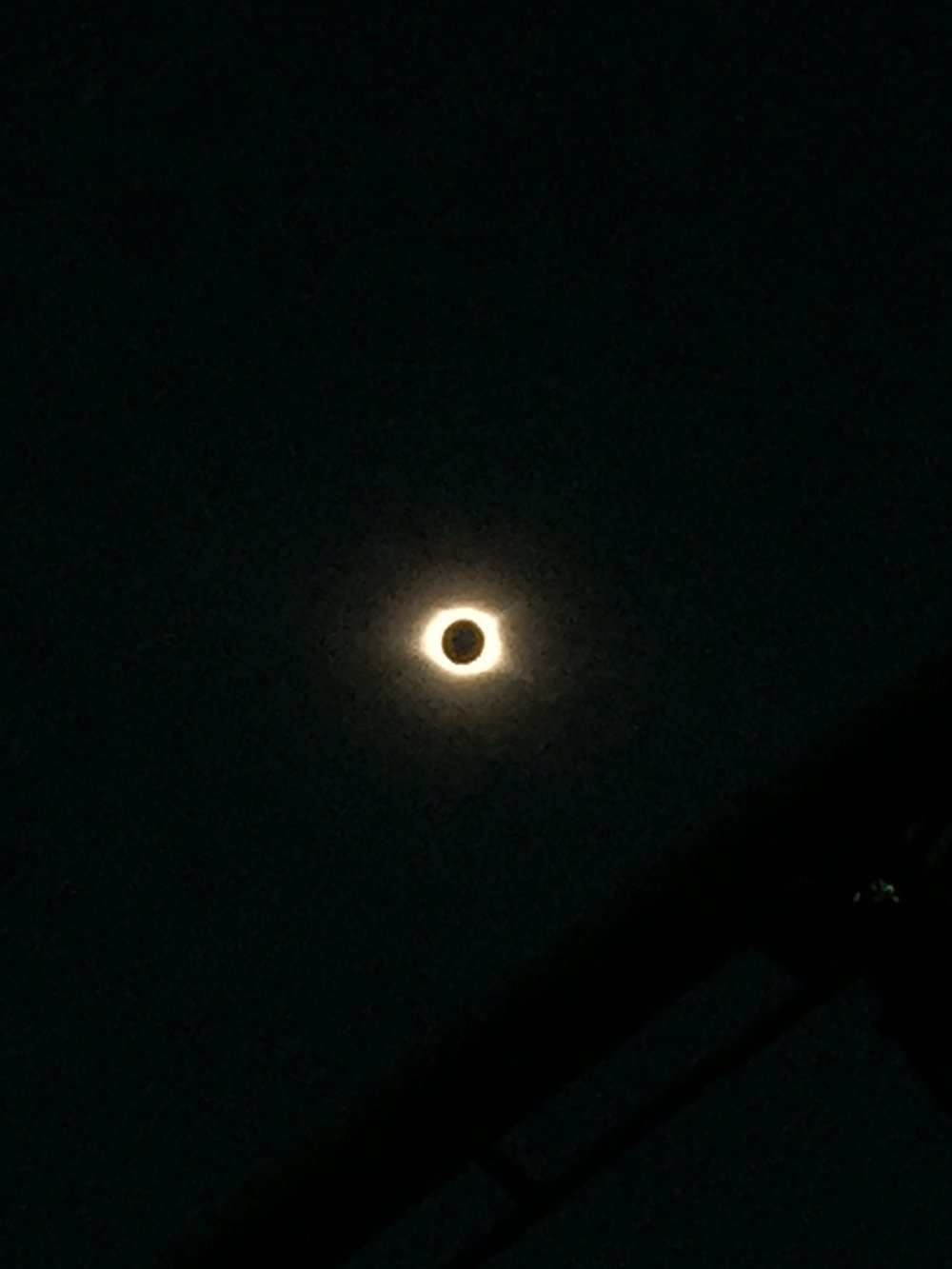 Photo of corona by Reza Madhavan of Princeton, NJ, viewed in Greenville, SC