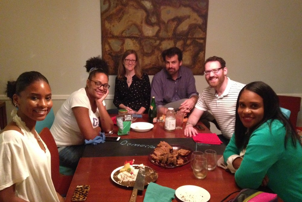 Kenedi, Ayana, Deborah, Jeff, Stephen, Toiya - Photo: Susan Haig