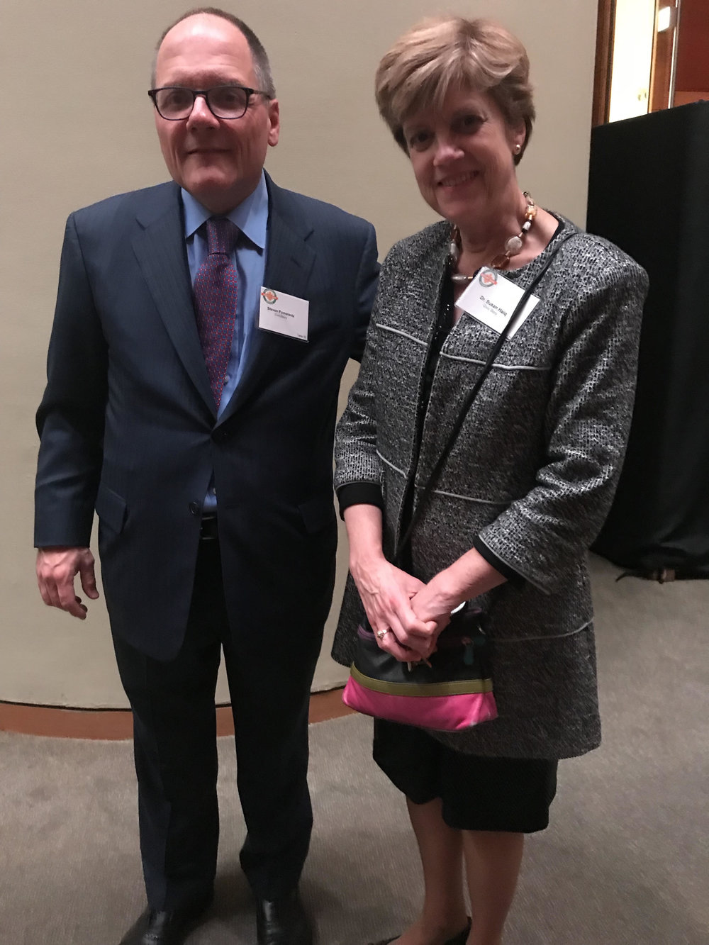 CivicStory Board Member Steven Pomerantz and Founder Susan Haig