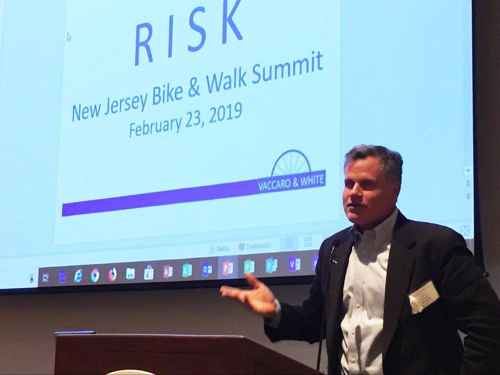 Bike & Walk Summit keynote speaker Steve Vaccaro. Photo by Donna Liu.