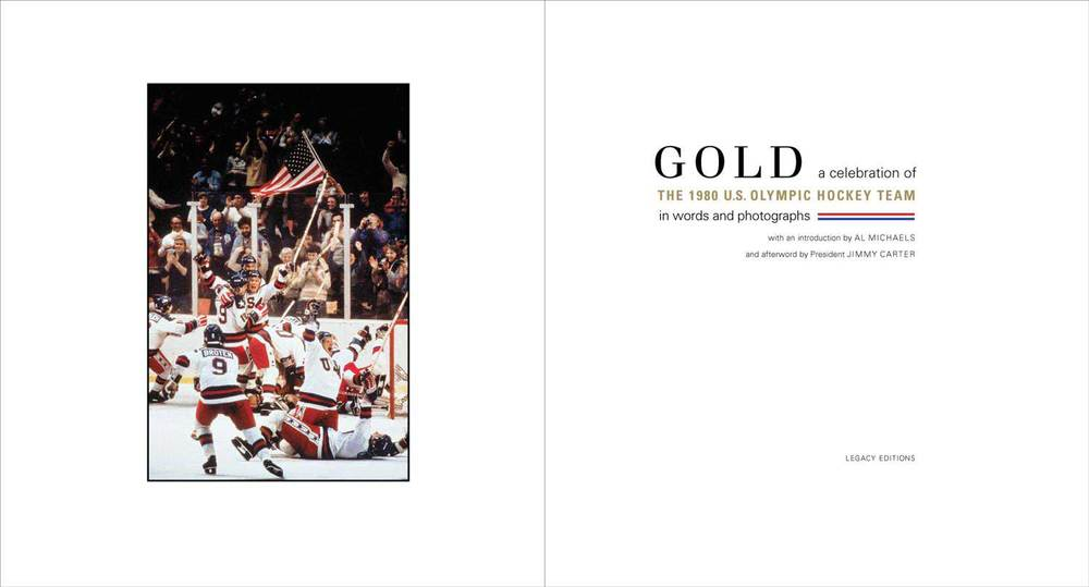 Gold: A Celebration of the 1980 U.S. Olympic Hockey Team