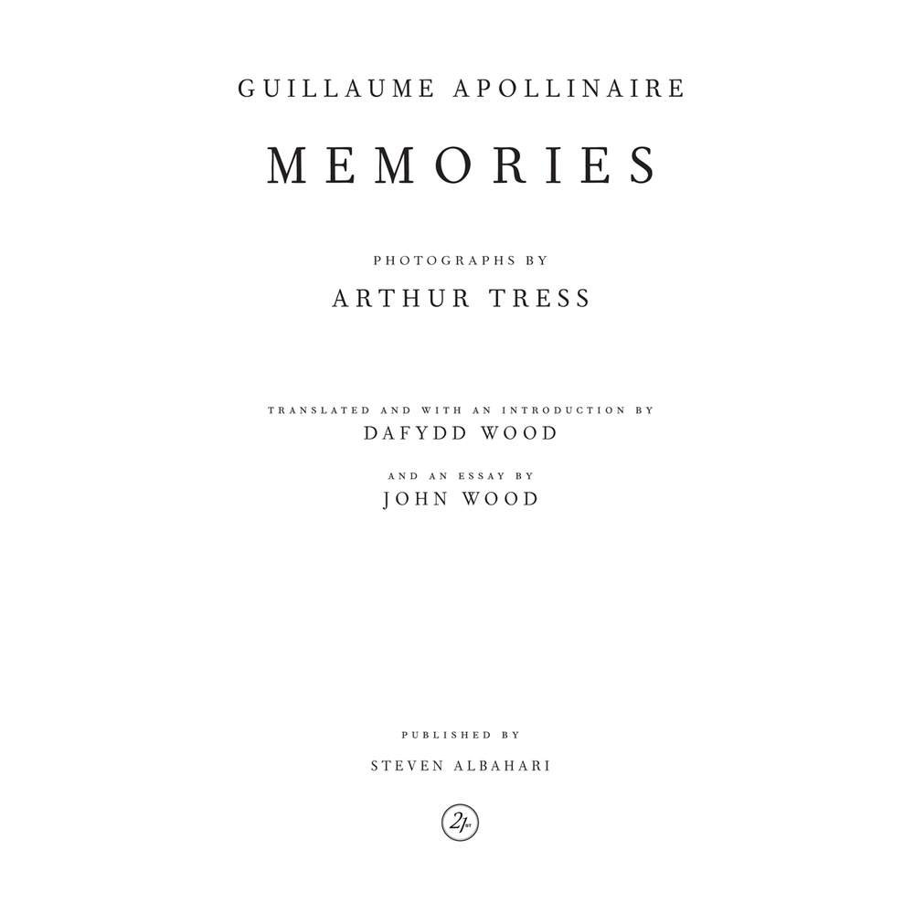 Guillaume Apollinaire, Memories