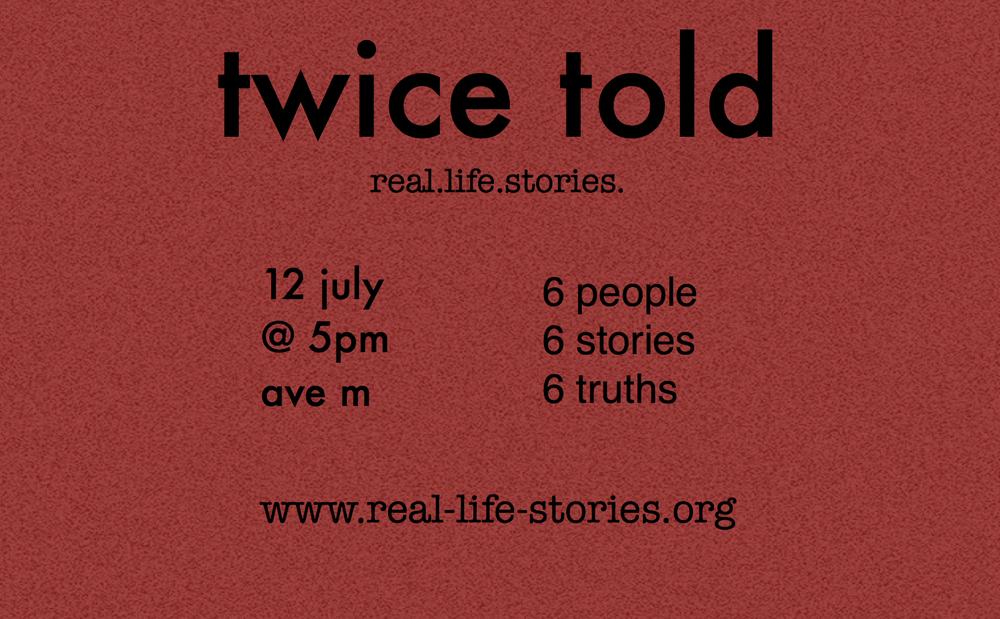 twice told