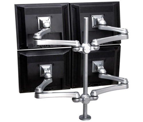 4-monitor Arms