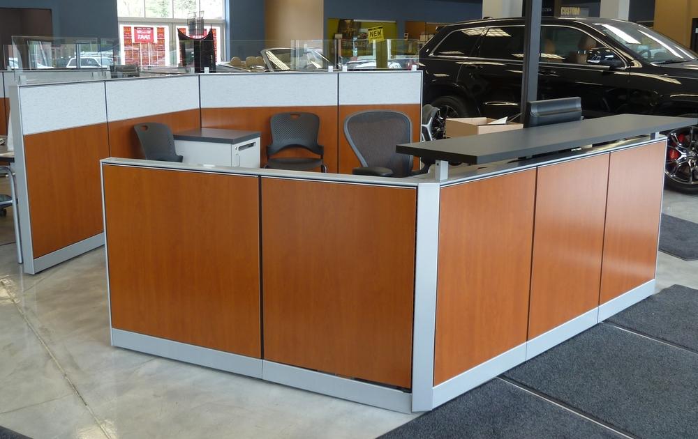 Automotive Dealerships — New Paradigm Interiors, Inc.