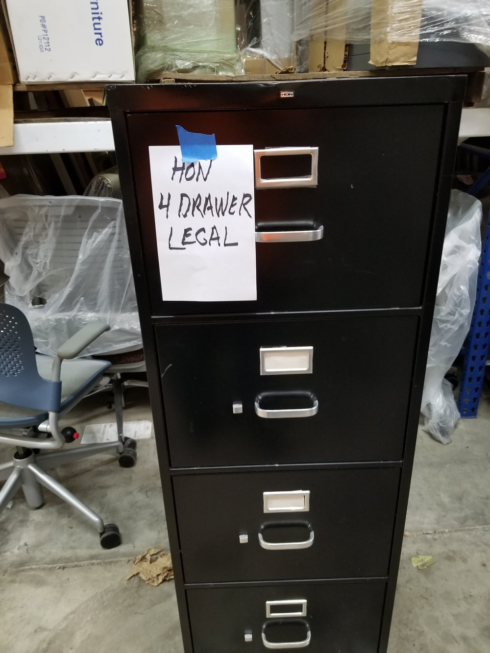 4- Drawer Vertical File Legal HON
