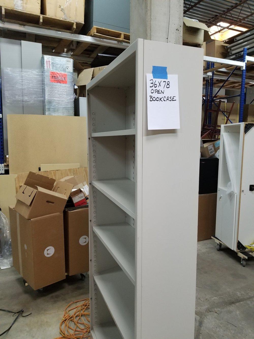 "36"" x 78"" Bookcase 5 shelves"