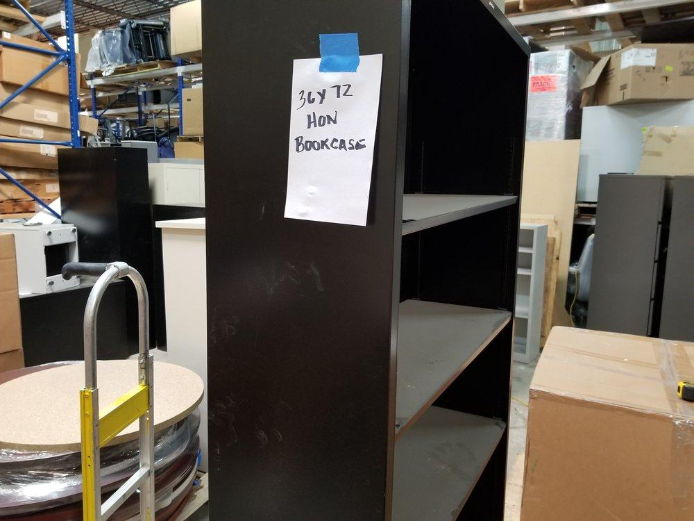 "36"" x 72"" Bookcase Hon Qty 3"