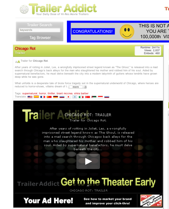Traileraddict.com  helping spread the rot.