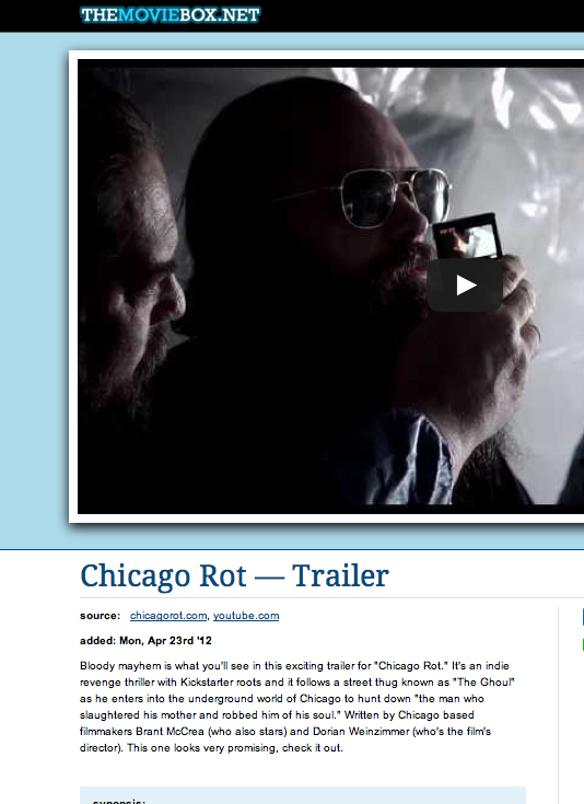 Moviebox.net  is excited about Rot. As they should. Thanks for the post!