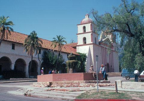 Santa Barbara Mission - 5/1980