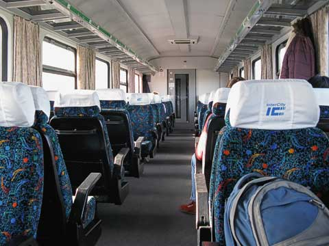 Near-empty train