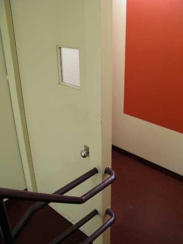 Door of bureaucracy