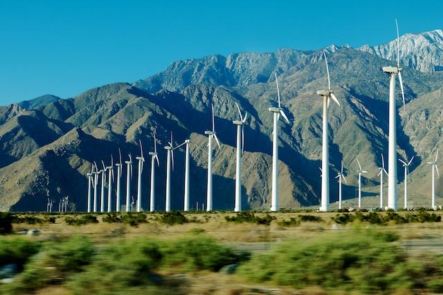 Windmills along I-10, Desert Center