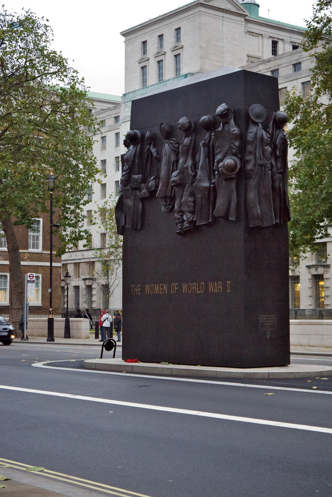 Monument for women of WWII