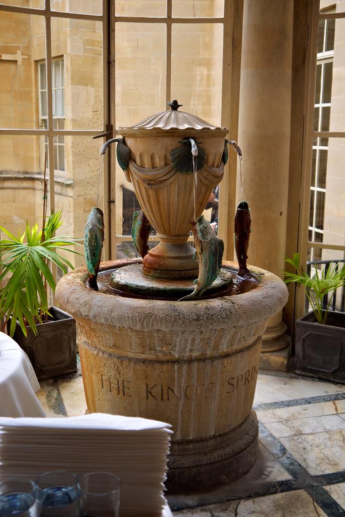 Hot springs water