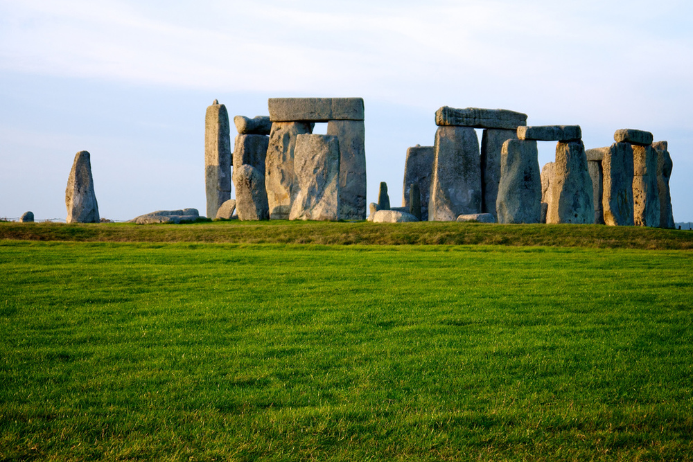 Stonehenge from east