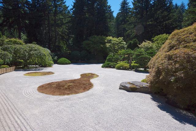 Flat Garden, Portland Japanese Garden