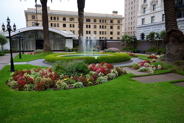 Fairmont Hotel garden