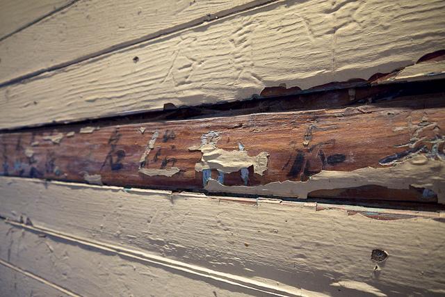 Detention Barracks wall etchings