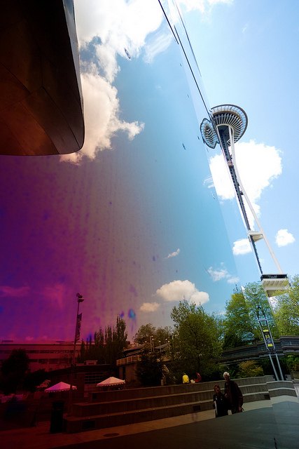 Experience Music Project and the Space Needle