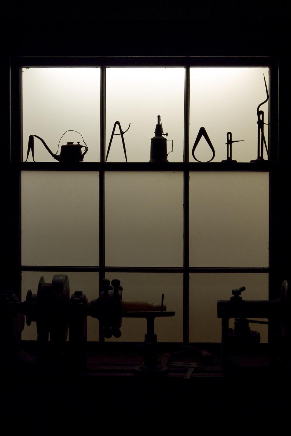 Brass polishing workshop