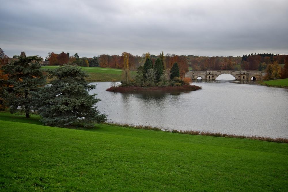 Queen Pond and Vanbrugh's Grand Bridge