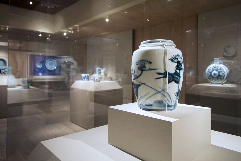 Cobalt Blues exhibit at the Portland Art Museum