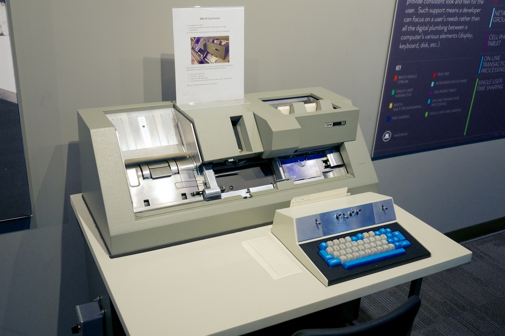 IBM 29 card punch