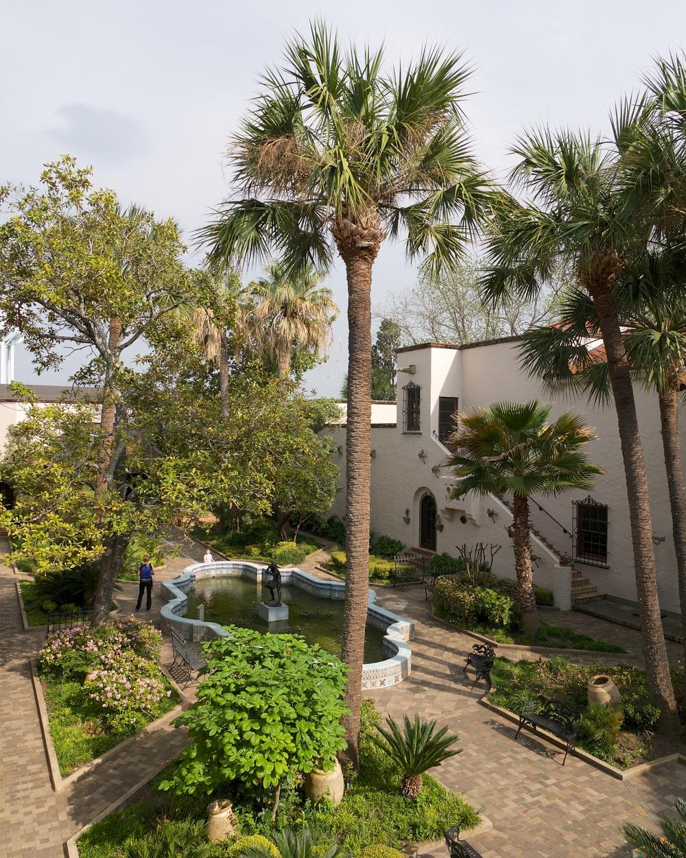 McNay Art Museum courtyard