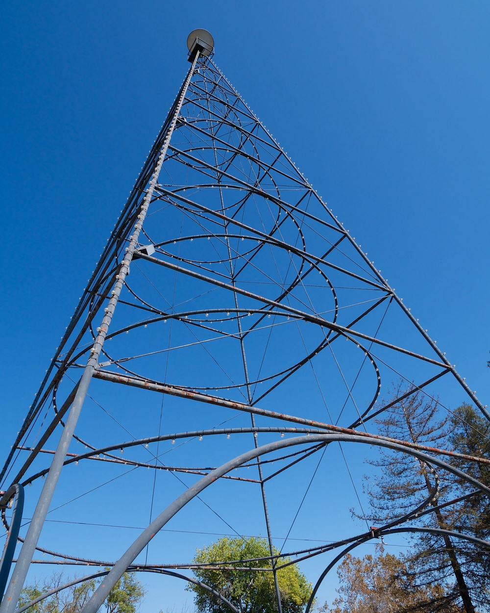 San Jose Electric Light Tower replica
