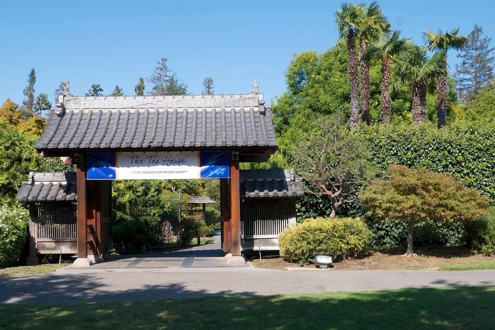 Japanese Friendship Garden entrance