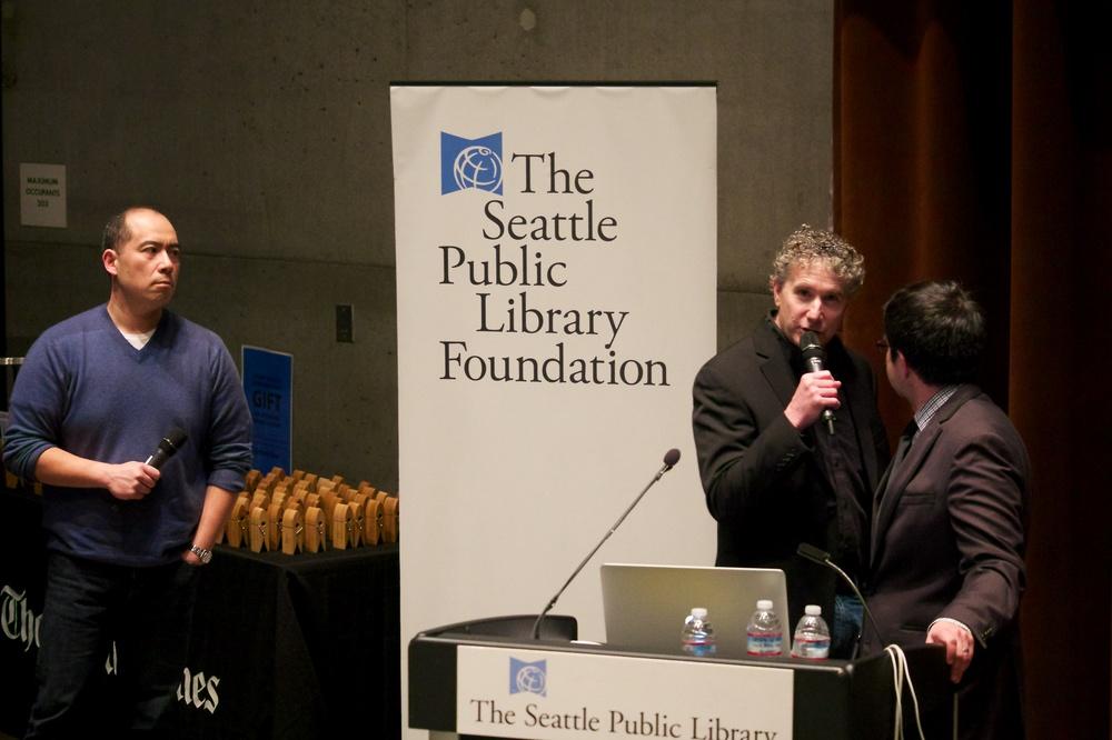 John Lok, Mike Siegel, and Danny Gawlowski
