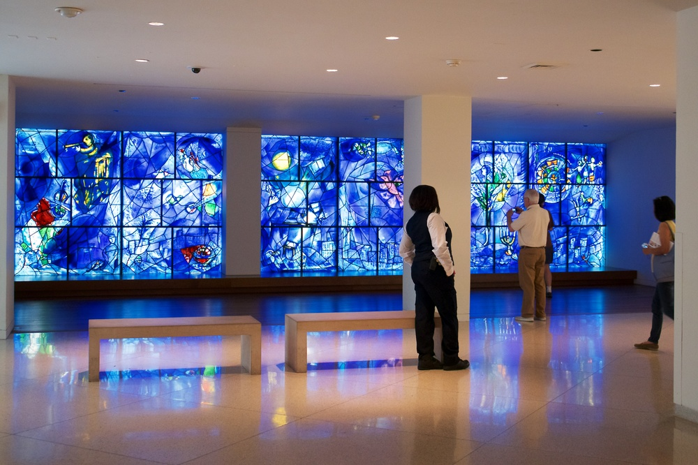 Chagall's America Windows