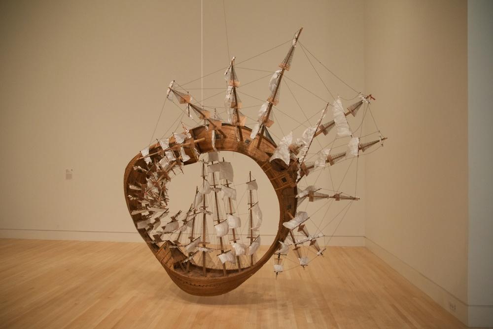 Möbius Ship, Tim Hawkinson