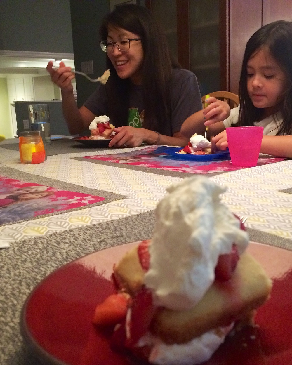Kara's strawberry shortcake