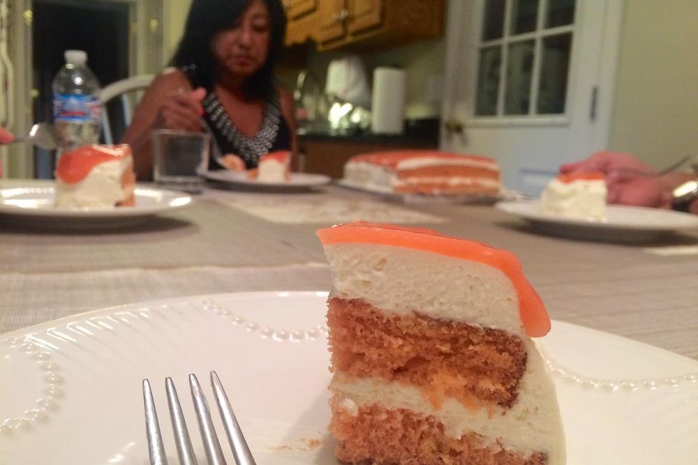 Arleen's guava cake