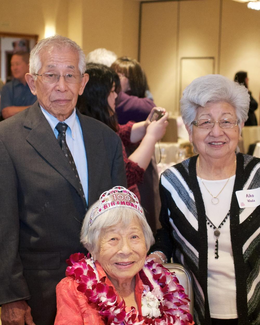Siblings: my dad, Aunt Haru, Aunt Aiko.
