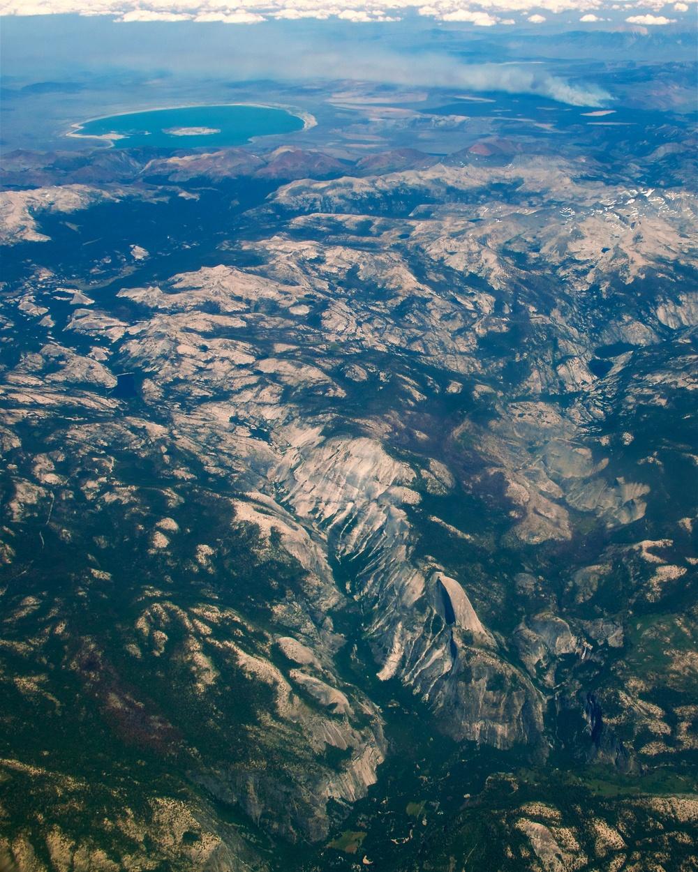Yosemite National Park (with Half Dome), Mono Lake