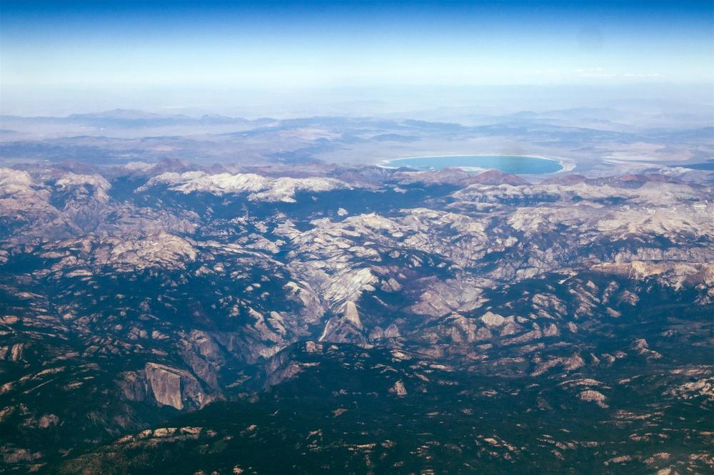 Yosemite (with Half Dome and El Capitan) and Mono Lake
