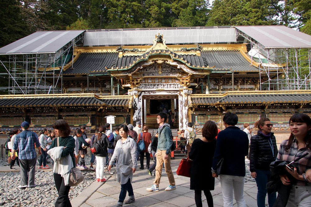 Karamon Gate to the Oratory, Toshogu Shrine