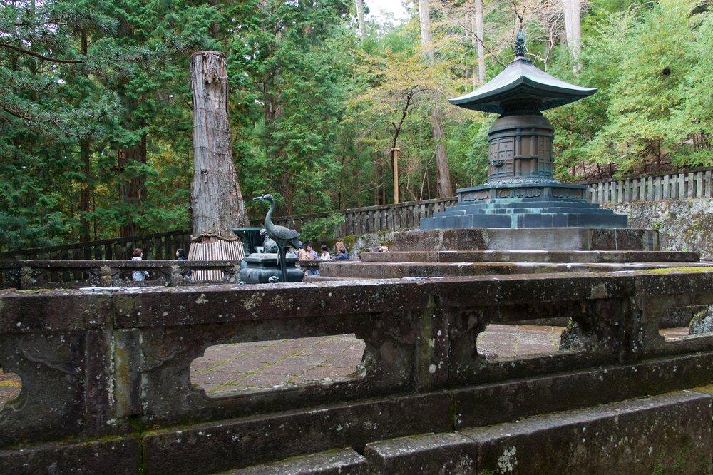 Ieyasus' tomb, Toshogu Shrine