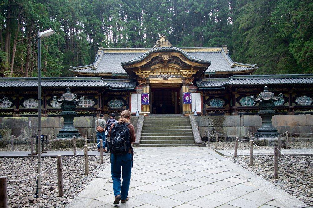 Main shrine, Taiyuinbyo