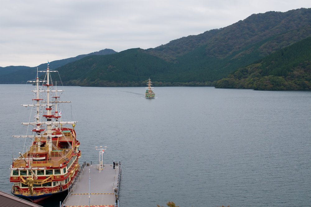 Our ship for the trip across Lake Ashi