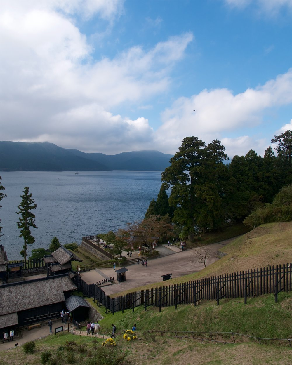 View from the Hakone Checkpoint lookout