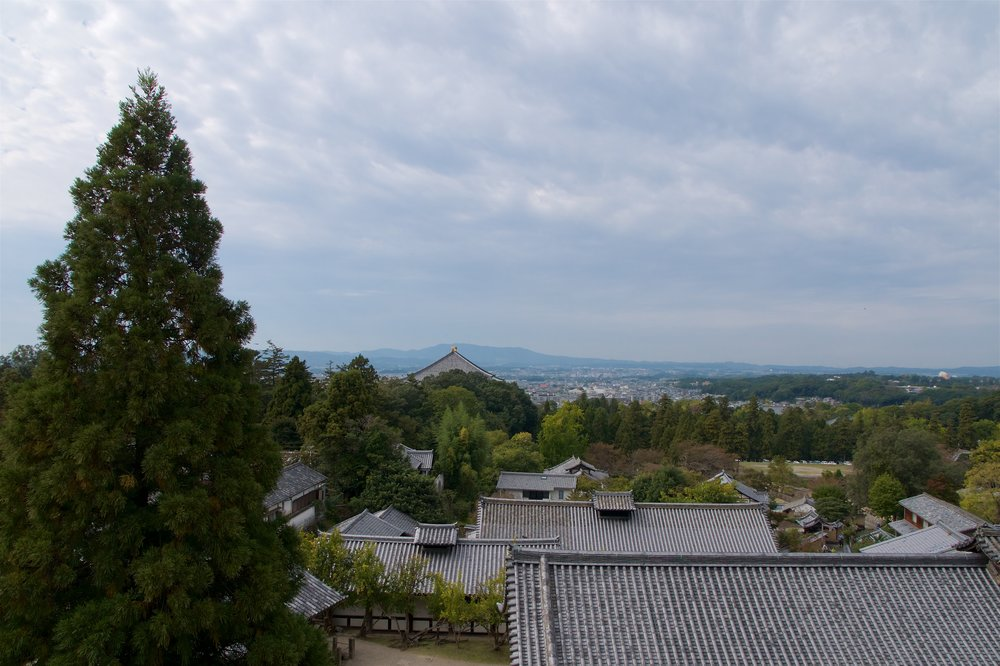 View from Nigatsu-do
